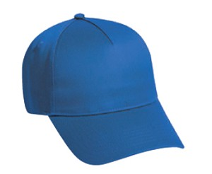 Cotton Twill 5-Panel Low Profile Pro Style Adjustable Cap; Style 686