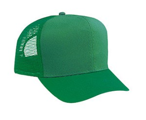 Cotton Twill Pro Style Mesh Back Cap Adjustable Cap Regular Profile; Style 524SC
