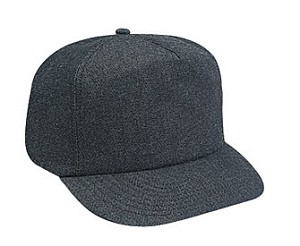 Denim Regular Profile Golf Style Non-Mesh Back Adjustable Cap; Style 527
